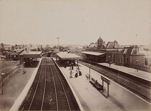 Petersham Railway Station 1870s
